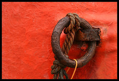 Barco rojo - by Libertinus