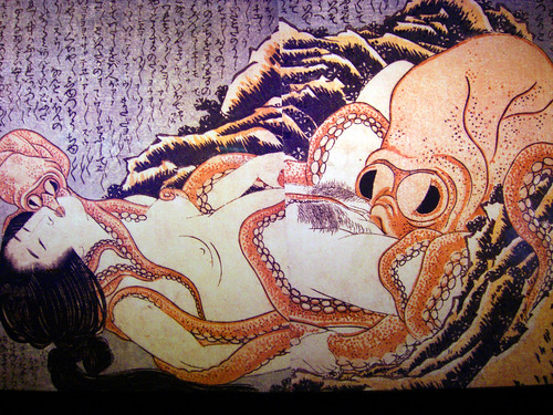 Japanese sex with octopus