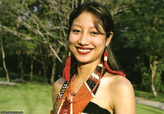 Lotha Naga in traditional dress.jpg (Longshim) Tags: india women burma tribal northeast indigenous naga nagaland nagas 50millionmissing lotha nagalim wokha