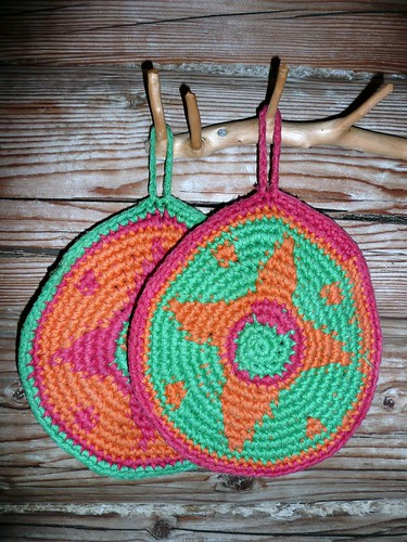 Pot holders by Torirot