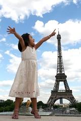 Mana (~Thanh) Tags: paris france tower 350d perspective eiffel ethan toureiffel tamron eurodisney