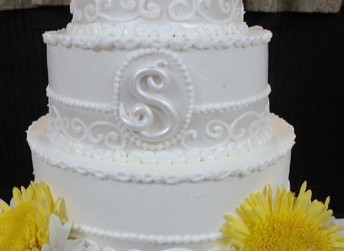 60th Wedding Anniversary Cake Monogram
