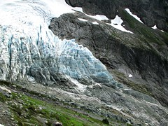 Lower Curtis Glacier, Mt Shuksan