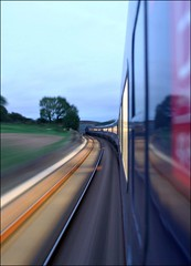 Motion blur... (Thrash Merchant) Tags: motion blur train movement track rail trains devon railways firstgreatwestern intercity 125 hst highspeedtrain intercity125 firstgroup ic125 fgw 43042