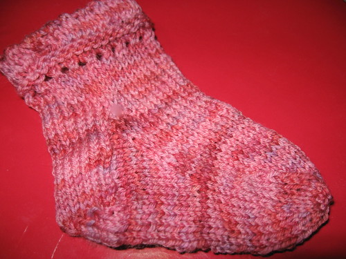 High Energy Baby Sock in Dream in Color 'Cool Fire'