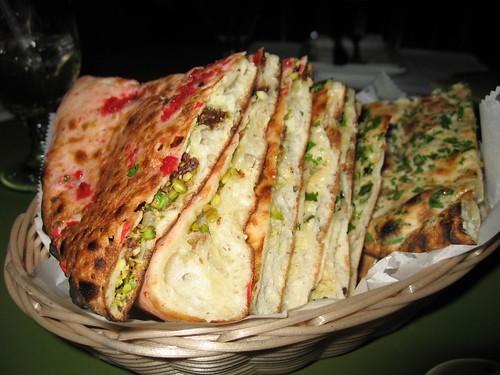 3 kinds of naan/bread