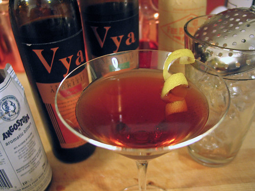 The Vermouth Cocktail