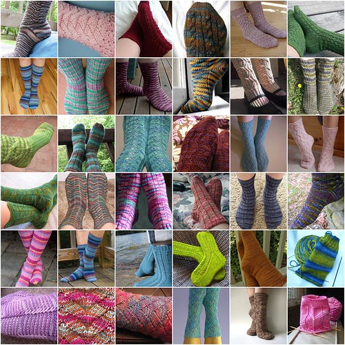 flickr favorites sock mosaic