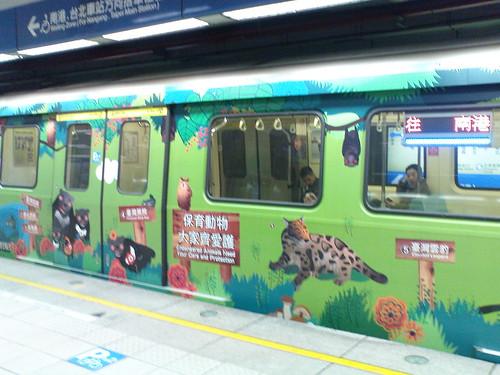 貓熊列車02