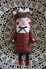 Theresa Smithson (super ninon) Tags: stuffedtoy handmade plush softie onstris
