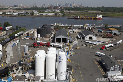 The Kuehne chemical plant stores deadly chlorine gas that threatens 12 million people in the New York City area
