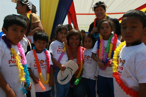 dia del ni�o peruano. 2010. Celebración