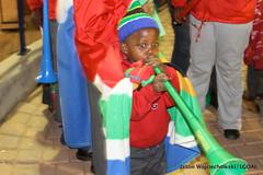 Blowing Vuvuzela for USA!
