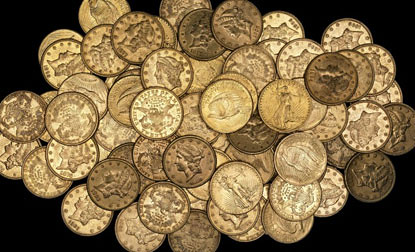 U.S. Gold Hoard Found 2010