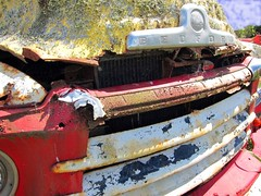 Moss and Metal (skidmarxphotography) Tags: old abandoned truck canon moss rust powershot sh1 foxton horowhenua beford s95 skidmarx
