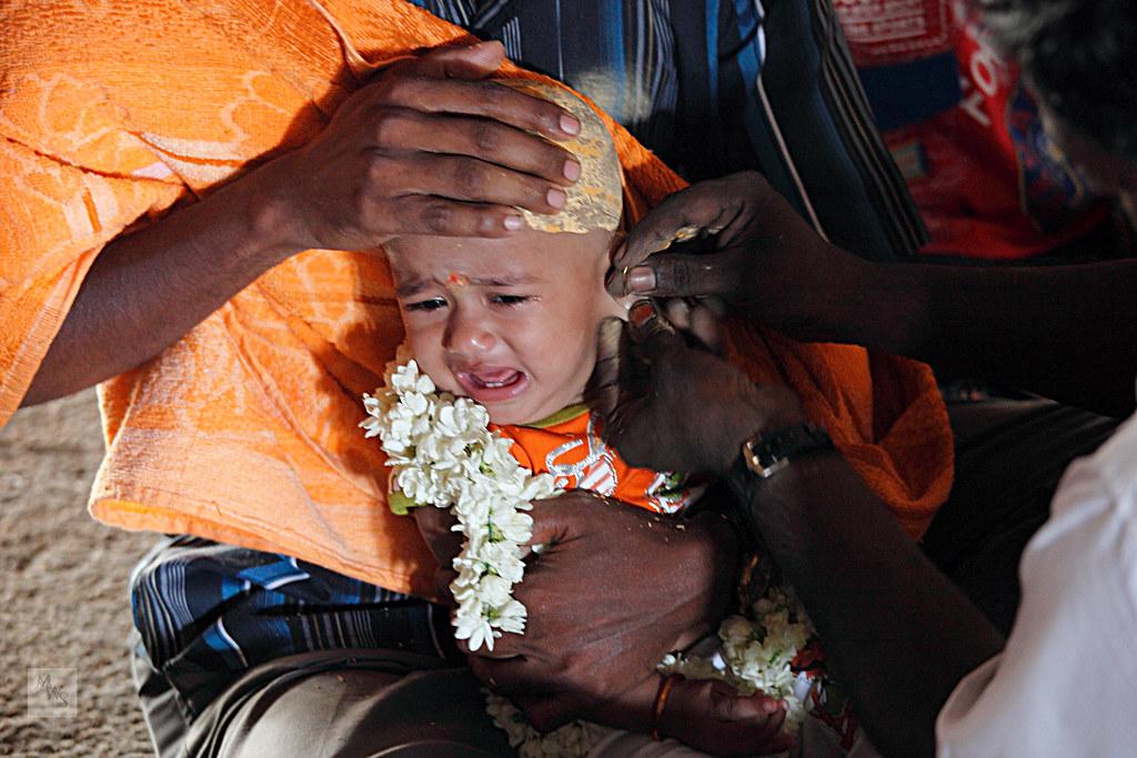 Karnavedha Samskara – Hindu Baby Ear Piercing rite