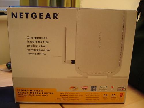 Netgear ADSL2+ wireless modem/router £40