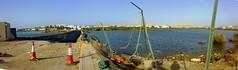 Qurum beach (Noora.S) Tags: road panorama beach bad gone after too cyclone guno share3 qurum al7ob