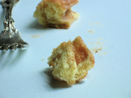 sticky bun remains