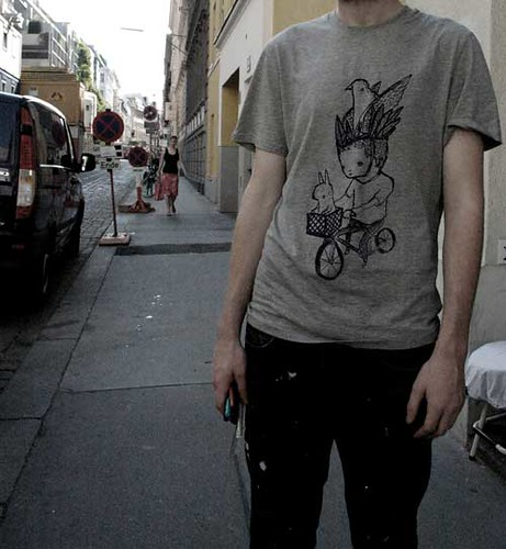 rabbit bike shirt