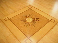 Brighton's main shrineroom floor inlay