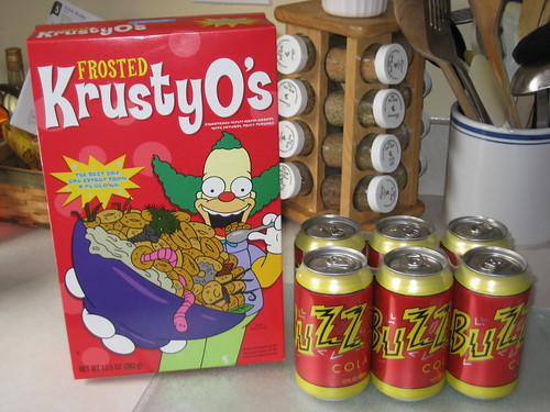 KrustyO's and Buzz Cola