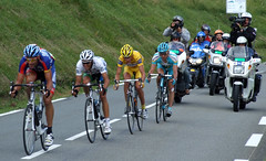 The Tour de France passes by