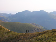 Hiking the divide