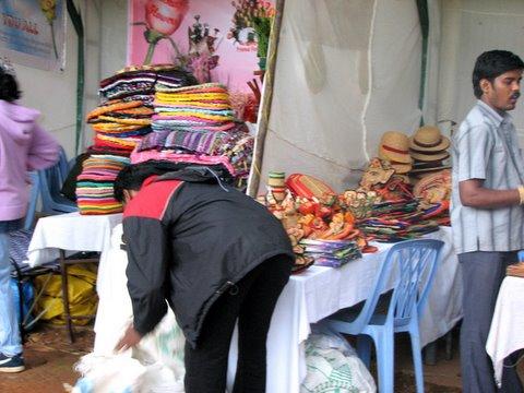 crafts stall