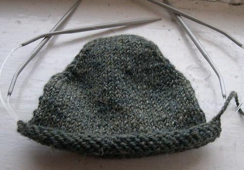 wool-mohair sock