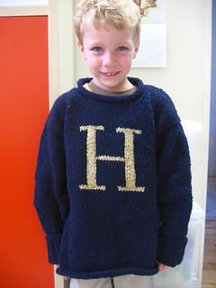 Ravelry: The Weasley Sweater pattern by Alison Hansel