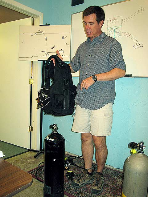 Scuba (lesson 1) our instruct