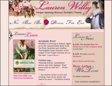 Lauren Willig's Website~