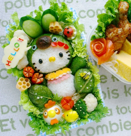 Cute Hello Kitty Bento