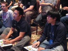 ChoiBoy and JWong facing off at Evo2k7