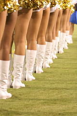boots are made for walkin (GeneDulay) Tags: sports football cheerleaders sandiego boots gates candid chargers ladainian chargergirls