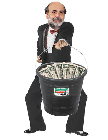 Bernanke gives out more