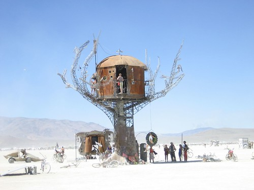 Steampunk Treehouse, Burning Man 2007
