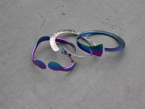 Niobium or Sterling Silver Bracelets