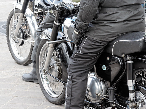 AMC motorcycle display