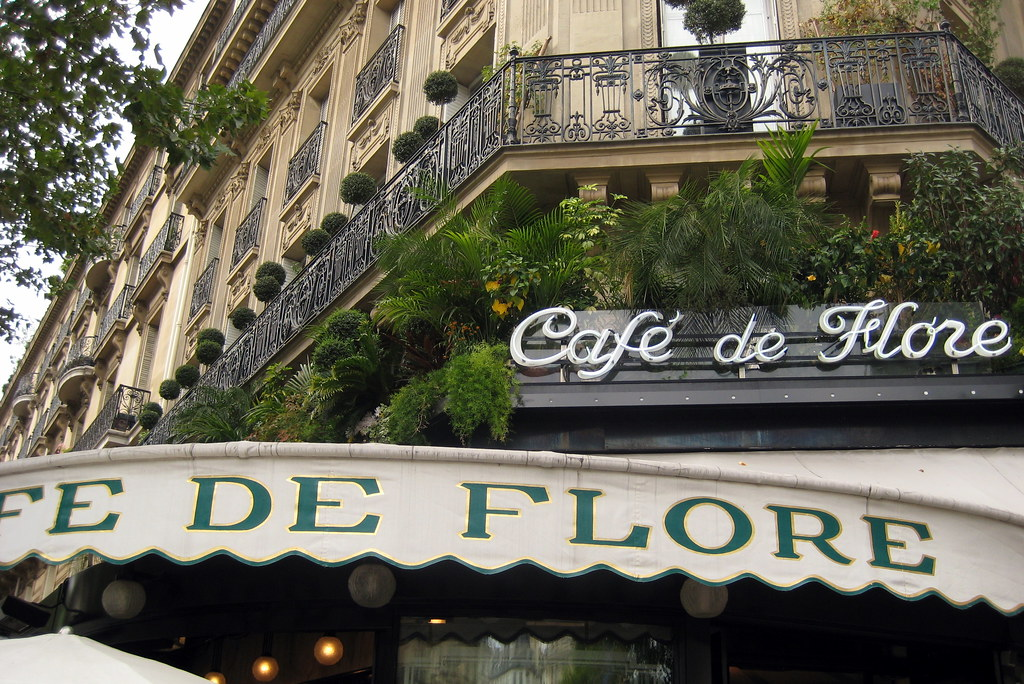 Paris - St-Germain-des-Prés: Café de Flor