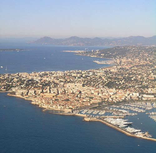 Trip to France - Aerial shot of Antibes 1