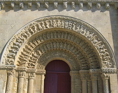 Romanesque church of Aulnay de Saintonge