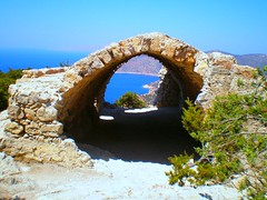 Monolithos - Rhodes, Greece (pantherinia_hd Anna A.) Tags: castle church island rocks mediterranean aegean greece rhodes monolithos     abigfave isawyoufirst diamondclassphotographer flickrdiamond