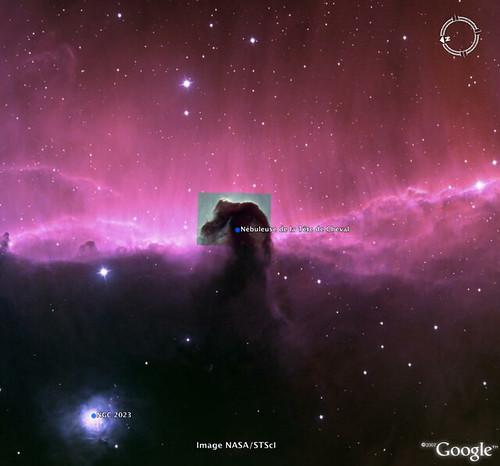 Orion - Nébuleuse de la Tête de Cheval - 2
