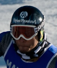 Errol Kerr of the Jamaica Ski Team