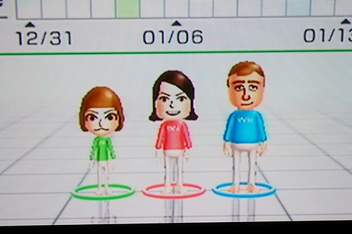 Our Mii's.
