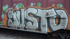 gusto (Making Stuff Blog) Tags: trains bnsf armn boxcarart fr8trains texasgraff texasbenching texasfr8s texasgraffitifreighttrains goldenwestservicefr8s