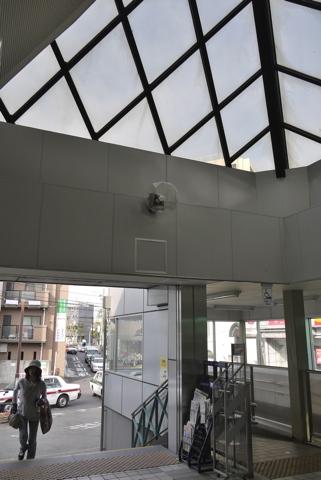 屏風浦の白旗商店街