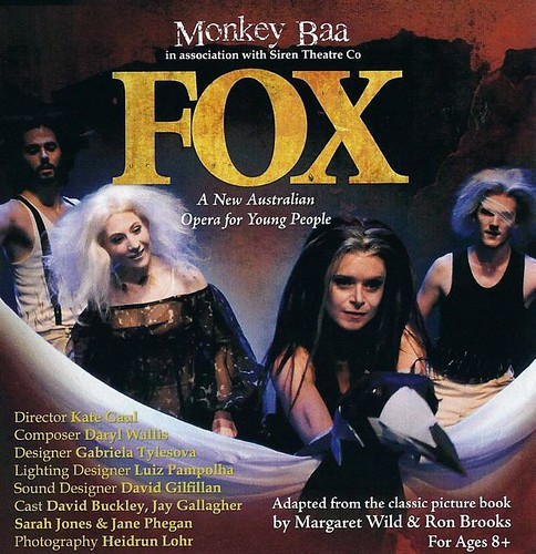 "Monkey Baa's ""Fox"" poster"